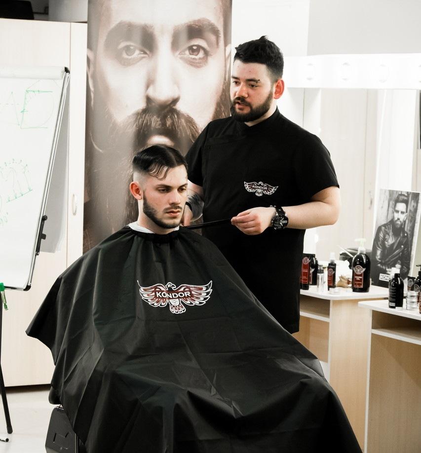 Оформление бороды. Знакомство с брендом «KONDOR»